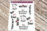 Wine Not - Wine Lover Stickers