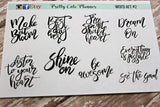 Script - Motivational Quotes Planner Stickers