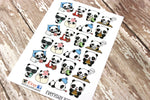 Panda Stickers - Everyday Panda