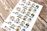Unicorn Planner Stickers - Everyday Stickers