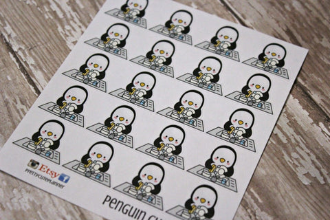 Penguin Stickers - Chore Stickers