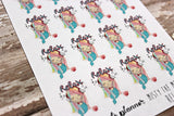 Misty Mermaid Relax Stickers