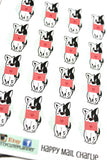 Charlie Happy Mail Planner Stickers