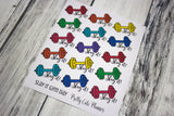 Gym Day Planner Stickers