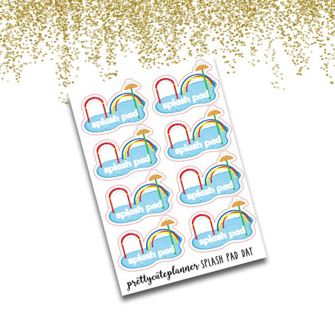 Splash Pad Planner Stickers