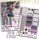 "1.5"" Standard Vertical  Adventure Awaits Weekly Planner sticker kit"