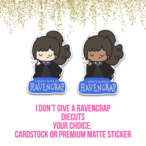 I don't Give a RavenCrap - Planner Die Cuts
