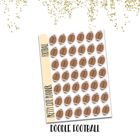 Doodle Football Stickers