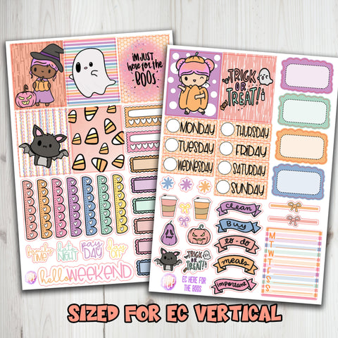 "1.5"" Standard Vertical  I'm here for the Boos Planner Stickers"