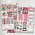 EC Vertical Lets Bake Stuff Weekly Planner Stickers