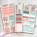 PP Weeks Christmas Pigs Planner Stickers