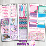 PP Weeks Mermaids V2 Weekly planner Stickers