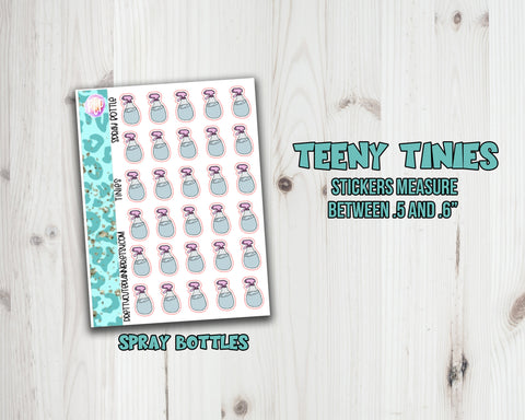 Teeny Tiny Chore Planner Stickers - Spray Bottle icon