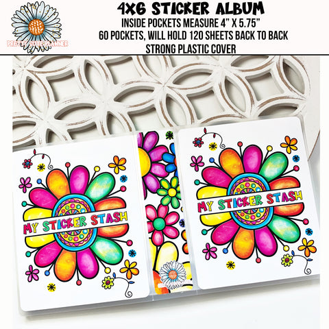 4x6 Sticker Storage Album - My Sticker Stash