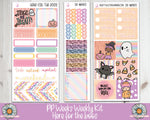 PP Weeks Here for the boos Weekly Planner sticker kit