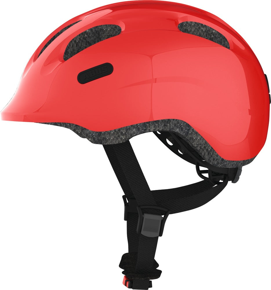 "Helm Abus ""Smiley 2.0 sparkling red"" - Größe S, 45-50cm, rot"
