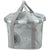 "Shoppingtasche RIXEN&KAUL Klickfix Reisenthel ""Bikebasket"", crystals light grey"