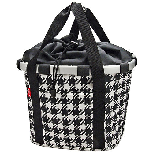 "Shoppingtasche RIXEN&KAUL Klickfix Reisenthel ""Bikebasket"", fifties black"