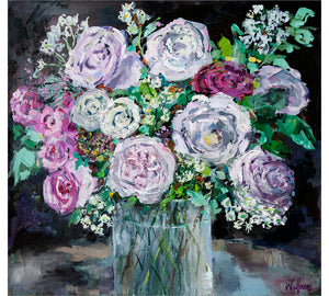 English Roses in Glass no2