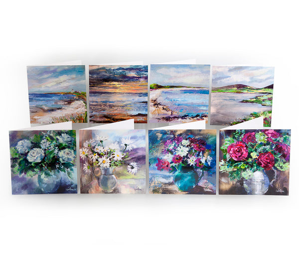 Set of 8 Greetings Cards