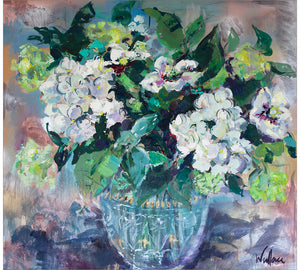 Hydrangeas and Hellebores