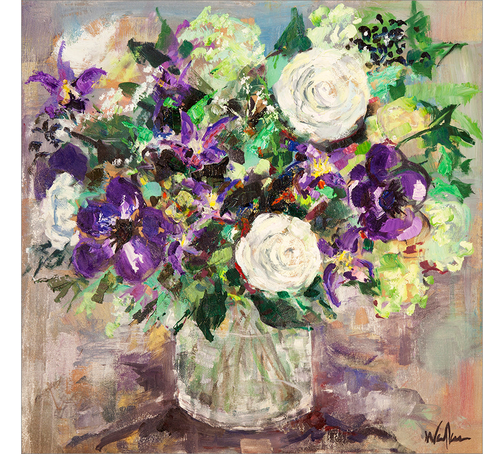Roses, Anemones and Clematis