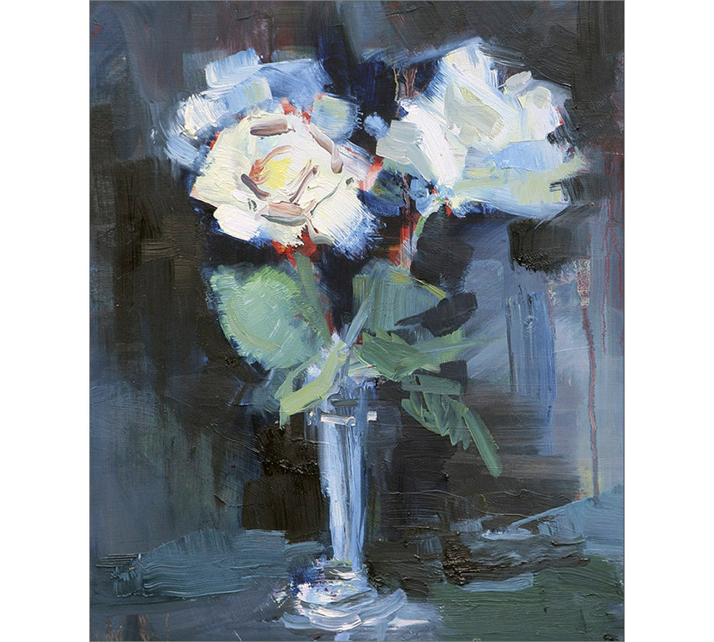 Study for White Flowers