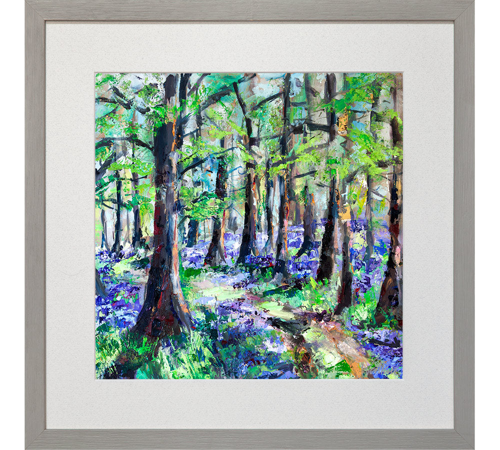 Through the Bluebell Wood
