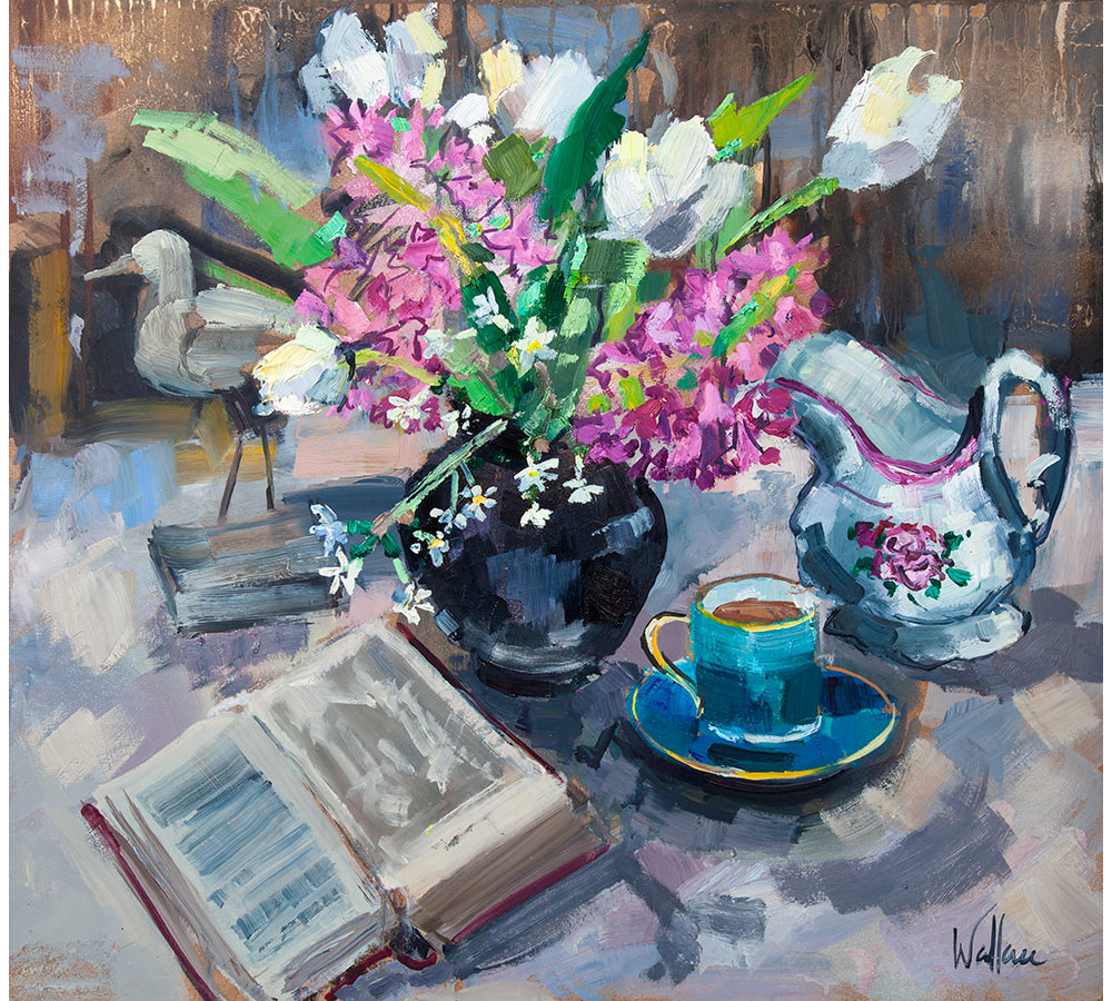 Tulip and Hyacinth Still Life