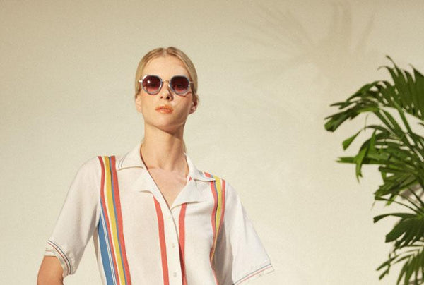 Rosie Assoulin, Morgenthal Frederics Team on Sunglass Collaboration