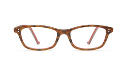 Uma Horn in spotty tortoise / red