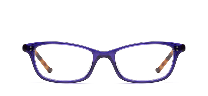 Uma in purple / traditional tortoise