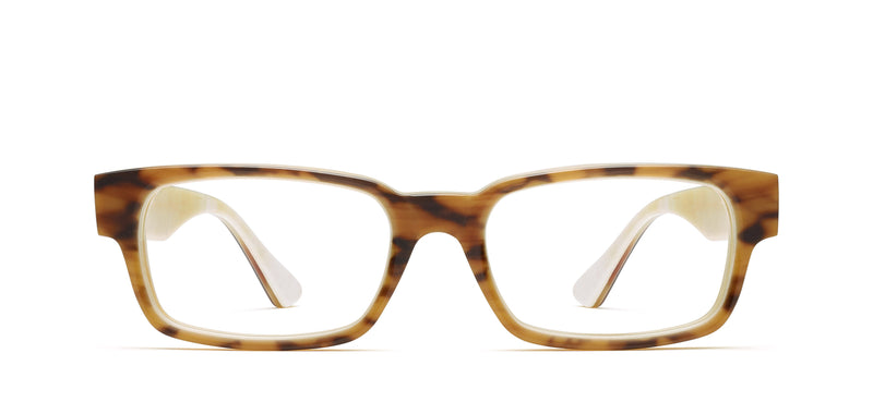 Ralphie Horn in tortoise matte / creme shiny