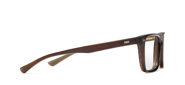 Newman Horn in brown matte / shiny