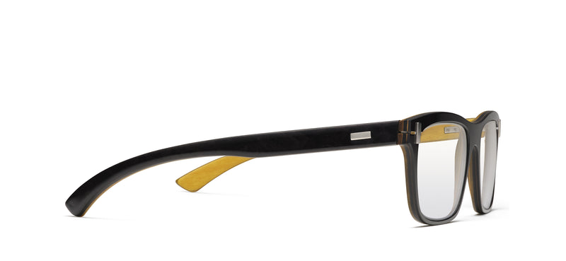 Bacchus Wood in black / yellow