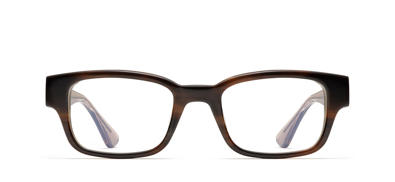 Ed in natural tortoise / brown crystal
