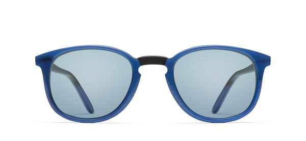 Chromoclear Refresh Benny Horn in blue on black