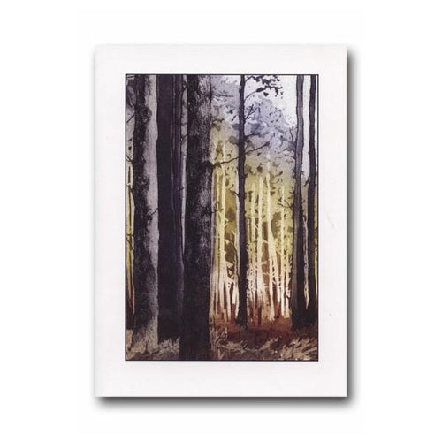 A Walk in the Forest Greeting Card - James & May