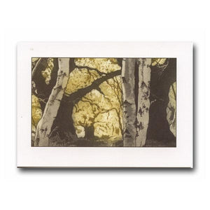 Ancient Woodland Greeting Card - James & May