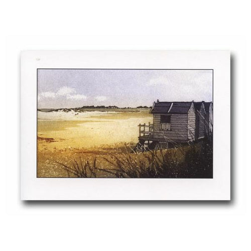 Beach Huts II Greeting Card - James & May