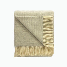 Load image into Gallery viewer, Beehive Wool Blanket in Silver Grey - James & May