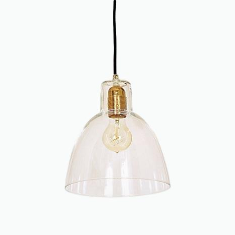 Bell Glass Pendant Light - James & May