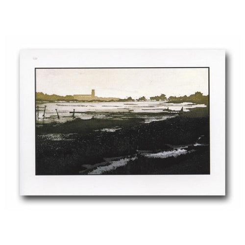 Blythburgh Marshes Greeting Card - James & May