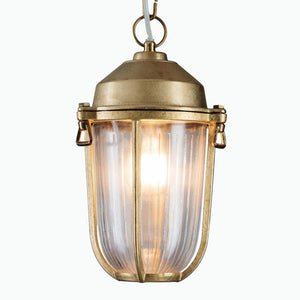 Boatyard Pendant in Brass - James & May