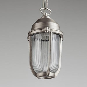 Boatyard Pendant in Nickel - James & May