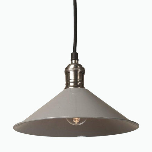 Cafe de Paris Pendant Light in Grey - James & May