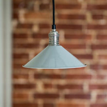 Load image into Gallery viewer, Cafe de Paris Pendant Light in Grey - James & May
