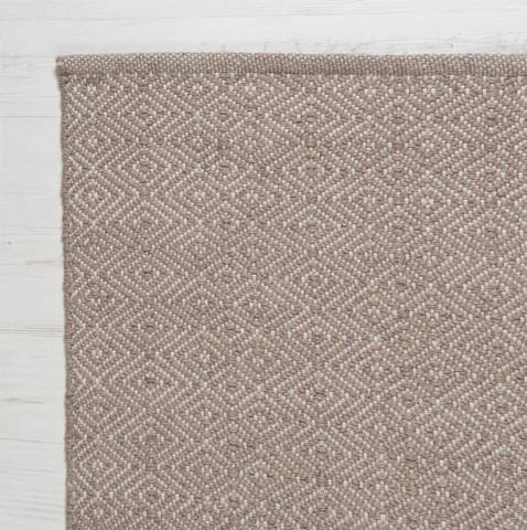 Diamond Rug in Dormouse - James & May
