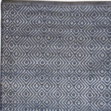 Load image into Gallery viewer, Diamond Rug in Navy - James & May