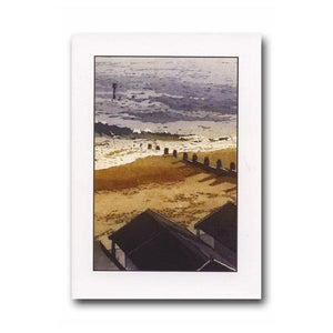 Down to the Beach Greeting Card - James & May